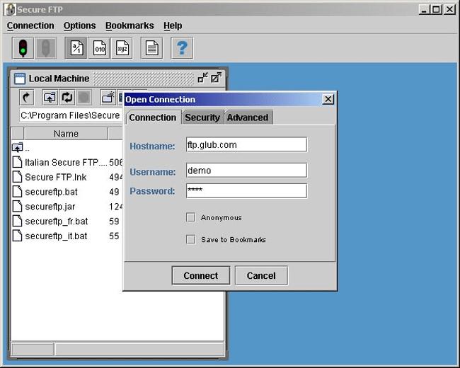 Secure FTP Client