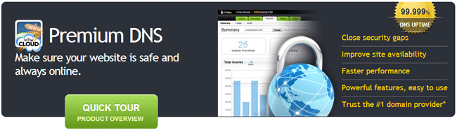 Godaddy Premium DNS
