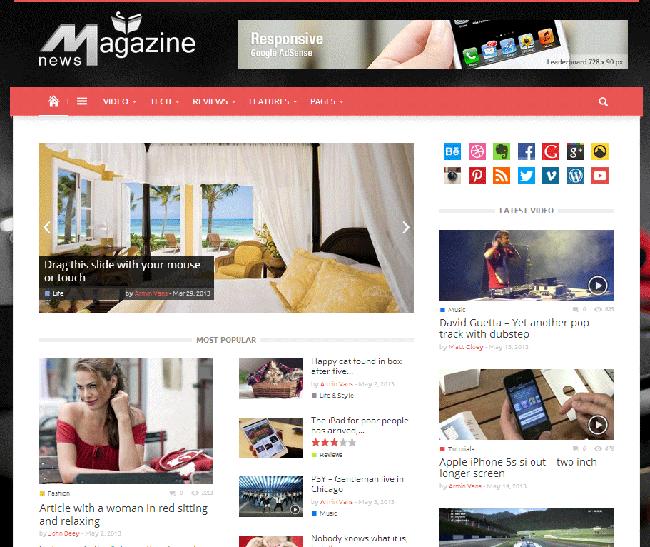 Magazinly WordPress Theme