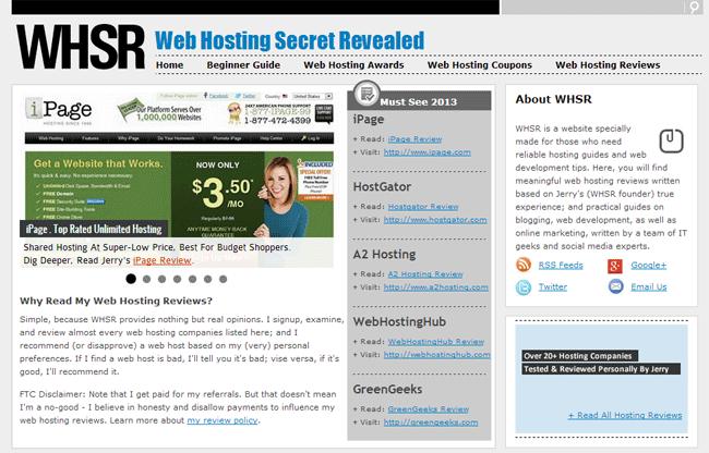 WebHostingSecretRevealed
