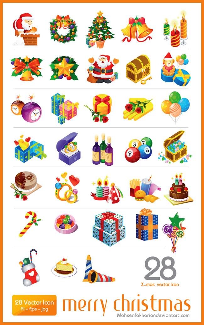 Christmas Vector Icons