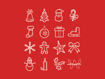 Beautiful Free Christmas Icons