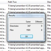 How to Compare Files in Two Directories