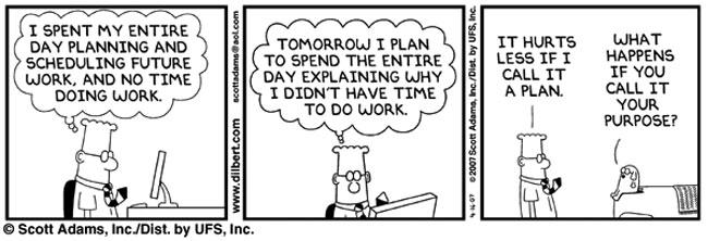 Dilbert on Planning