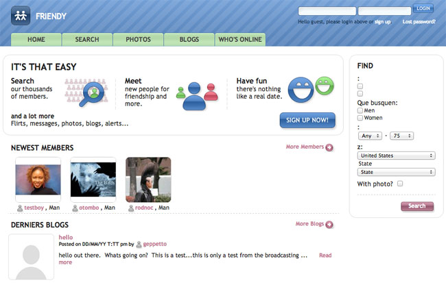 Free software for dating