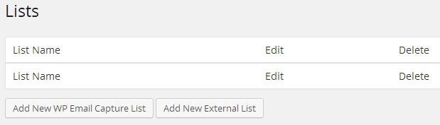 Create a New List