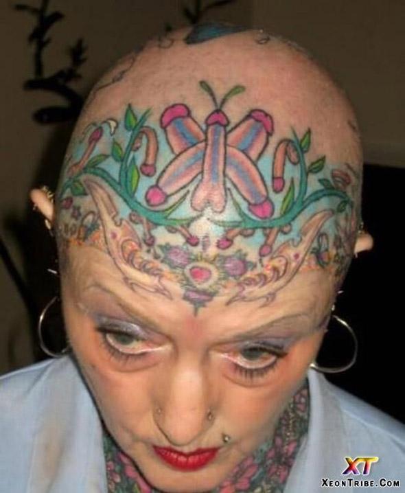 Cock Garden Tattoo