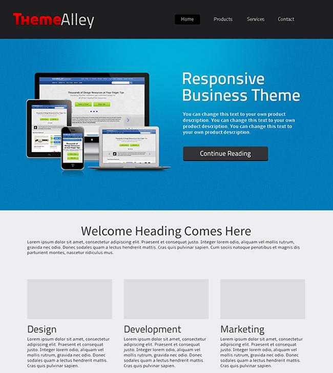 Alexandria WordPress Theme