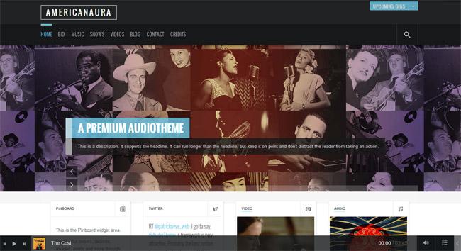 Americanaura WordPress Theme