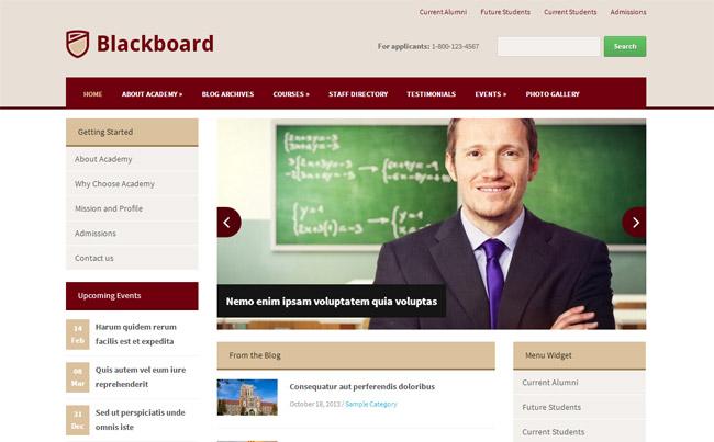 Blackboard WordPress Theme