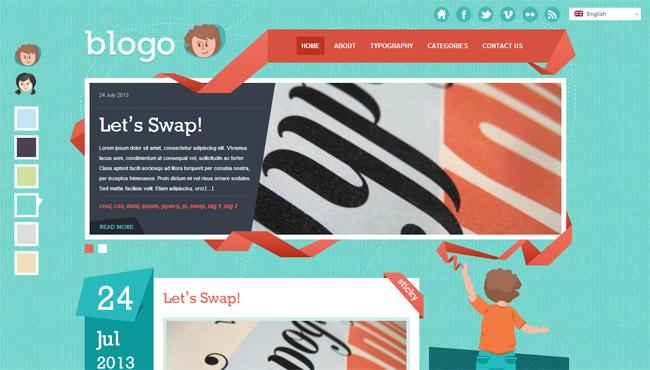 Blogo WordPress Theme