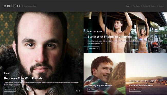 Booklet WordPress Theme