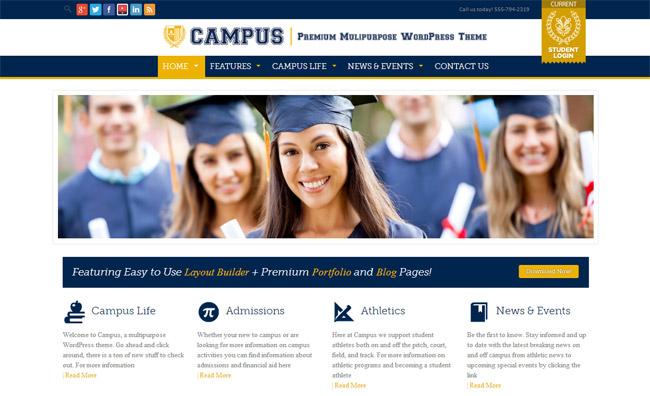 Campus WordPress Theme