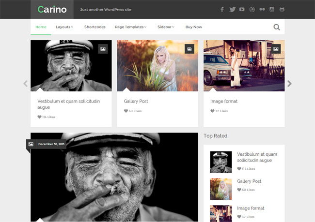 Carino WordPress Themev