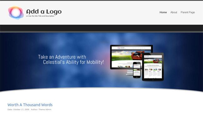 Celestial - Lite WordPress Theme