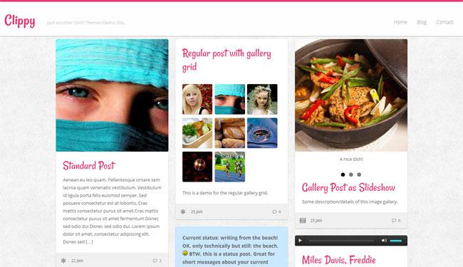 Clippy WordPress Theme