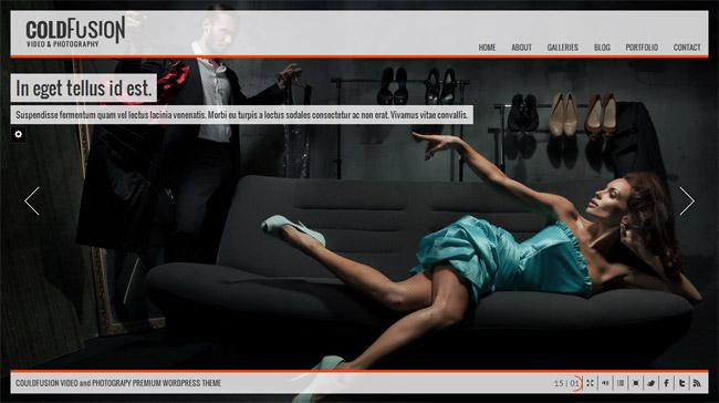 ColdFusion WordPress Theme