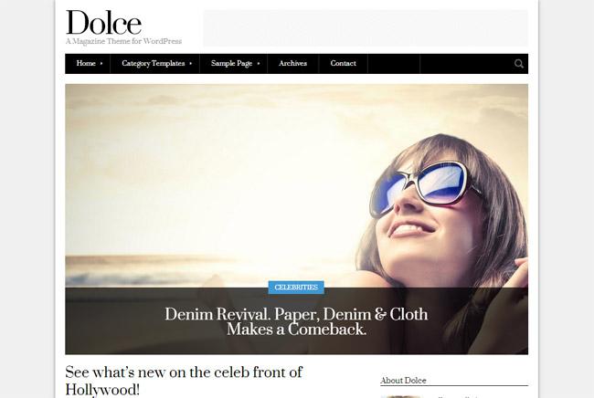 Dolce WordPress Theme