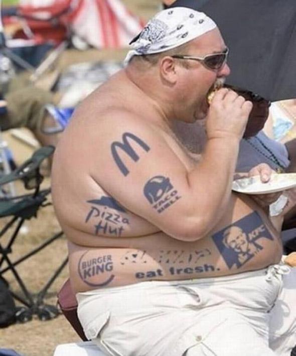 Eat Fresh Bad Tattoo