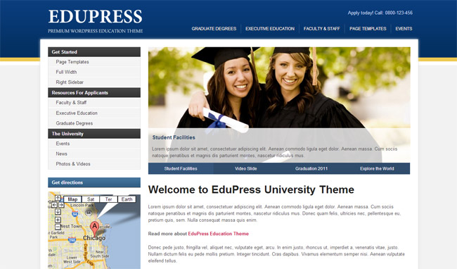 EduPress WordPress Theme
