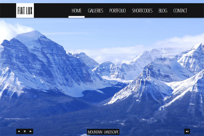 FIAT LUX WordPress Theme