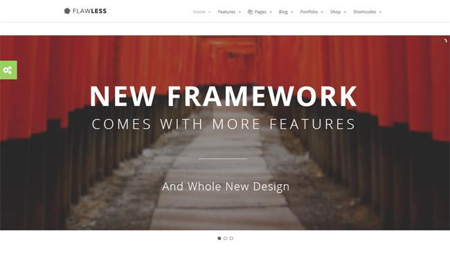 Flawless WordPress Theme
