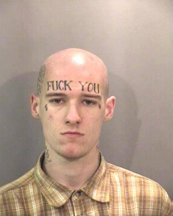 Fuck You Tattoo