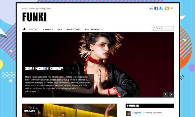 Funki WordPress Theme