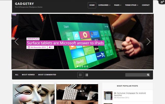 Gadgetry WordPress Theme