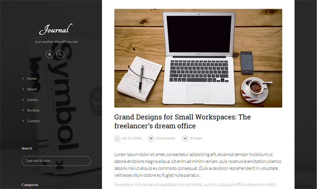 Journal WordPress Theme
