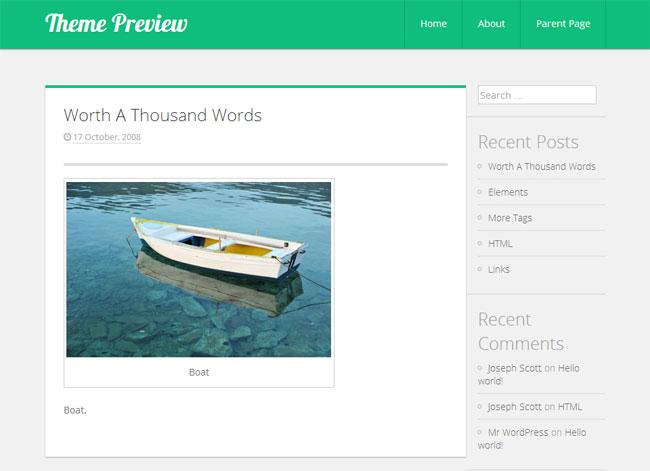 Limelight WordPress Theme