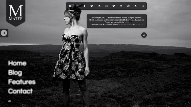 Mater WordPress Theme