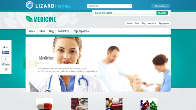 Medicine WordPress Theme
