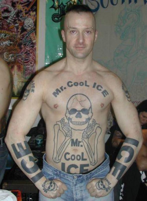 Mr Cool Ice Tattoo