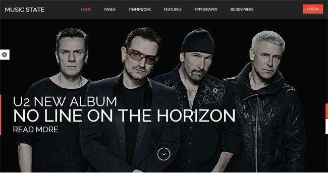 Music State WordPress Theme