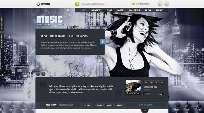 Music WordPress Theme