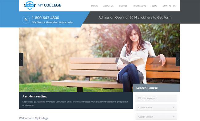 My College WordPress Theme