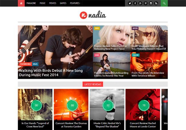 Nadia WordPress Theme