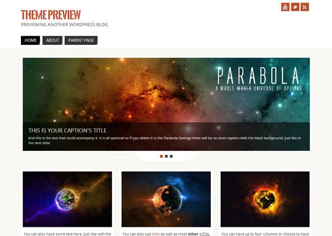Parabola WordPress Theme