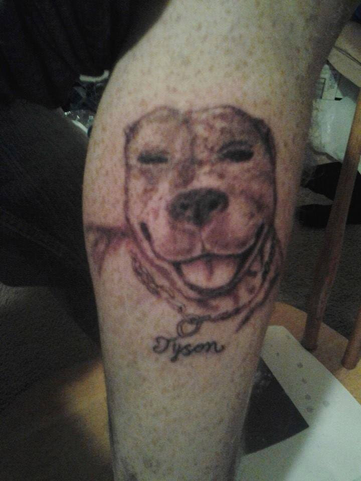 My Dog Tyson Tattoo