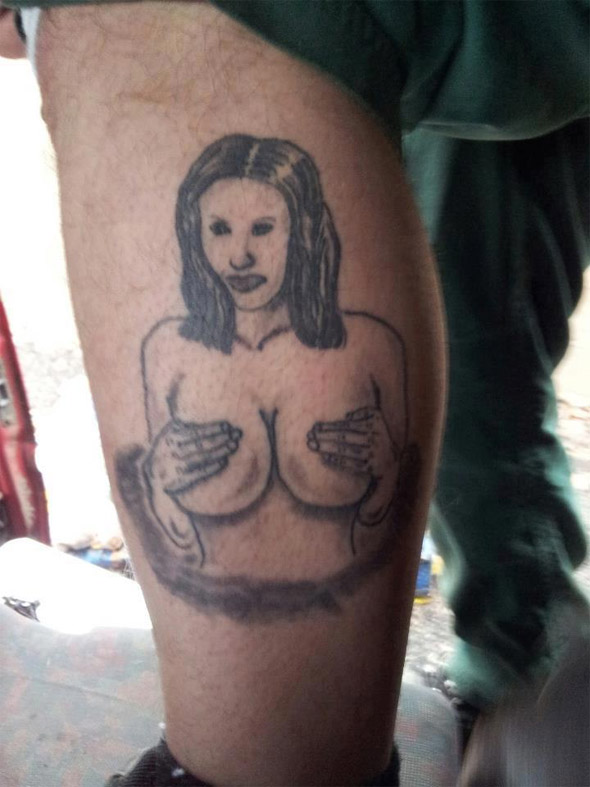Modest Lady Tattoo