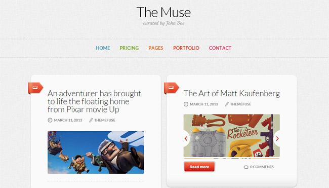The Muse WordPress Theme