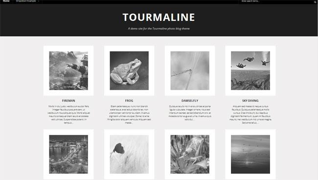 Tourmaline WordPress Theme
