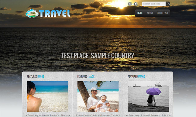 Travel Lite WordPress Theme