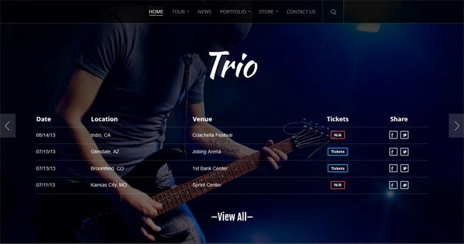 Trio WordPress Theme