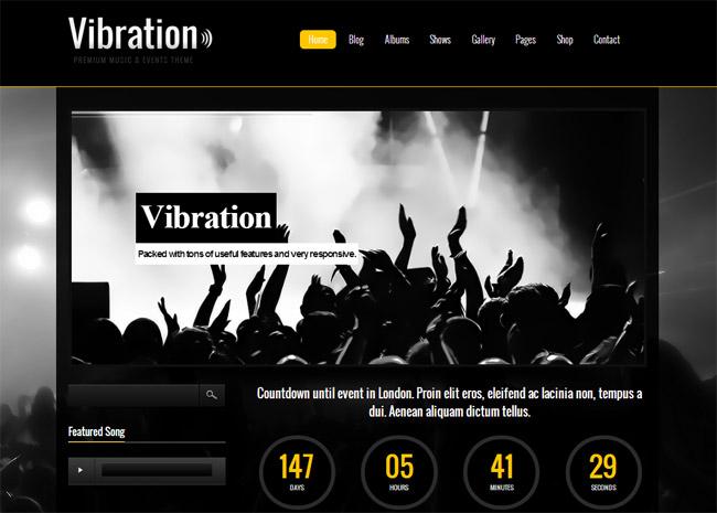 Vibration WordPress Theme
