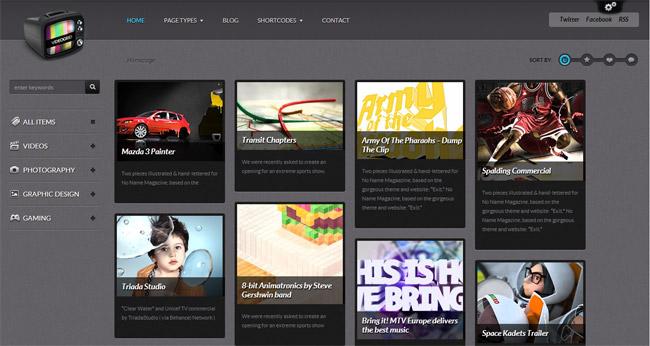 VideoGrid WordPress Theme