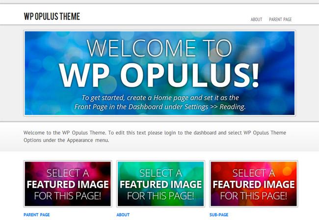 WP Opulus WordPress Theme