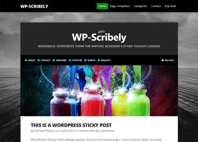 WP-Scribely WordPress Theme