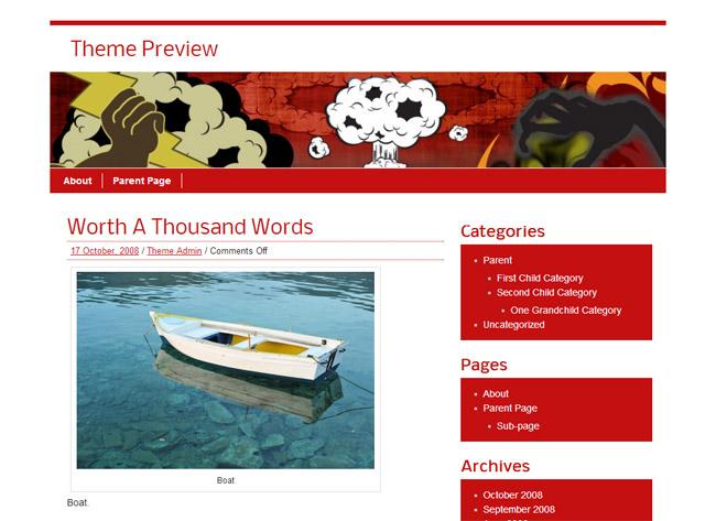 zeeBusiness WordPress Theme